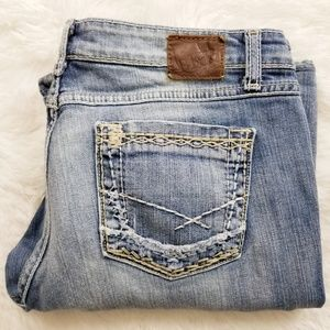 BKE Sabrina Jean's by Buckle. Lightly Distressed.